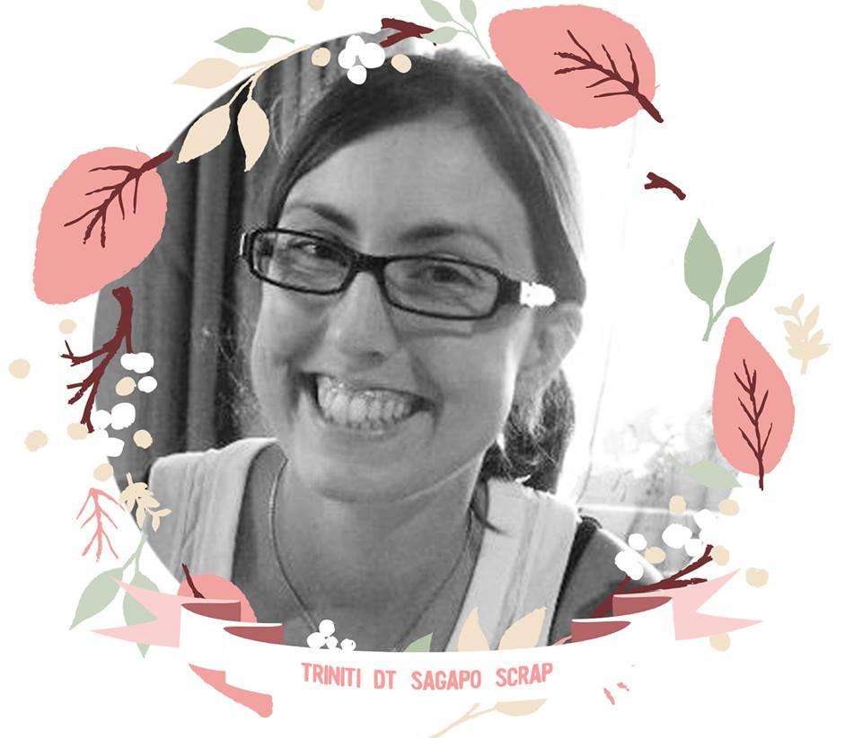 Triniti pour l'équipe créative Sagapo Scrap