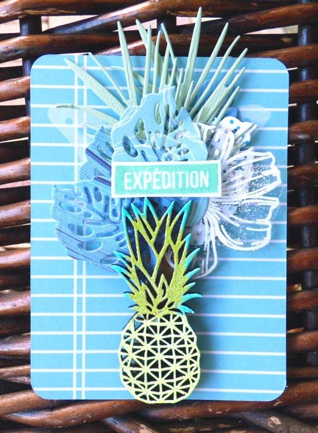 sept carte ananas